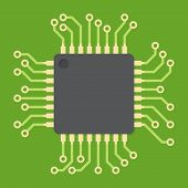 picture of cpu  - Central processing unit  - JPG