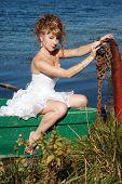 Bedridden Bride In The Boat