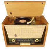 Vintage radio-gramophone