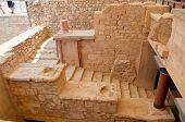 stock photo of minotaur  - Knossos is an ancient village by the minoans - JPG