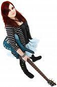 Ginger Teen 5 String Bass Player