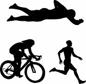 triathlon - vector
