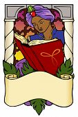 Arabian Nights bookplate
