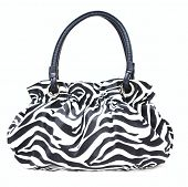 Black and White Zebra purse