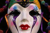 Mardi Gras Mask Closeup