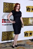 LOS ANGELES - JUN 20:  Christina Hendricks arrives at the 1st Annual Critics' Choice Television Awards at Beverly Hills Hotel on June 20, 2004 in Beverly Hills, CA