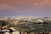 View Of Naoussa - Paros Island, Greece