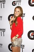 LOS ANGELES - APR 12:  Shantel VanSanten at the 'Gatorade G Series Fit Launch Event' at the SLS Hote