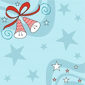 Christmas Bells And Stars poster