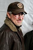 LOS ANGELES, CA - DEC 7: Steven Spielberg at the premiere of 'The Lovely Bones' held at the Mann's G