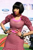 LOS ANGELES - JUN 26:  Nicki Minaj arriving at the 11th Annual BET Awards at Shrine Auditorium on Ju