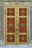 Door of the tabernacle