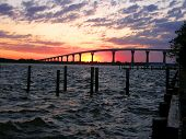 Solomons Bridge In Maryland