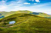 Little Pond On Top Of Mountain Ridge poster