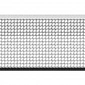 Seamless tennis net. Vector.