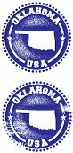 Oklahoma USA Stamps