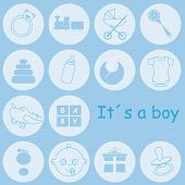 baby boy icons