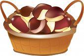 Chestnut Basket