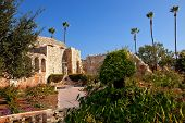 Mission San Juan Capistrano Church Ruins California