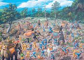 Ancient Battle In Asia