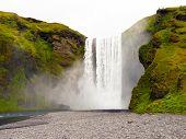 Skogafoss Iceland Waterfall poster