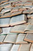 Libros, hacer el patrón con sombras