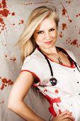 Bloodstained Sadistic Nurse