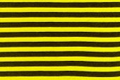 Texture Of Real Knitwear In Black And Yellow Stripes, Textile Background. Like A Bee. poster
