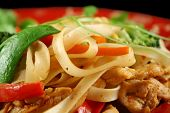 Chicken Noodle Stirfry