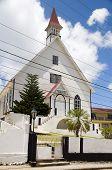 Primera Iglesia Bautista La Loma ciudad San Andres Isla Colombia Suramérica