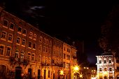 Lviv City By Night