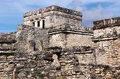 Mayan Building Complex At Tulum
