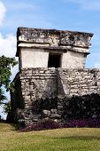 Small Maya Building At Tulum