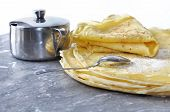 Tasting Sugar Pancakes