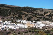 White village, Juviles, Andalusia, Spain.