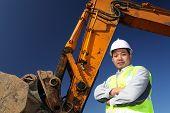 Operator Of A Excavator
