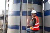 Engineer And Storage Tank