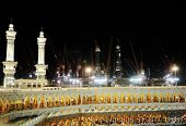 MECCA - JULY 21 : Kaaba on July 21, 2012 in Mecca, Saudi Arabia.  Kaaba in Mecca is the holiest and