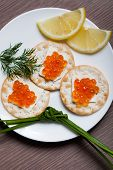Red Caviar Holiday Breakfast