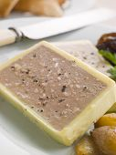 Chicken Liver And Foie Gras Parfait With Caramelised Shallots And Melba Toast