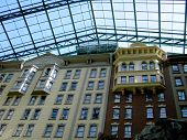 Hotel With Glass Roof