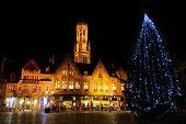 Christmas Tree At Burg Square