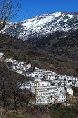 White village, Trevelez, Andalusia, Spain.
