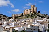 stock photo of pueblo  - View of the castle  - JPG