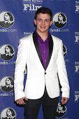 SANTA BARBARA - JAN 24:  Aviad Bernstein arrives at the Santa Barbara International Film Festival