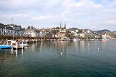Landscape of Lucern Lake, Switzerland