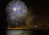 Fireworks  Mercy 2013 In Barcelona