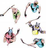 Sport Mascots - Ice Hockey