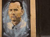 Graffiti In Honor Tom Hanks
