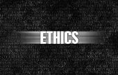 picture of ethics  - Ethics in Business as Motivation in Stone Wall - JPG